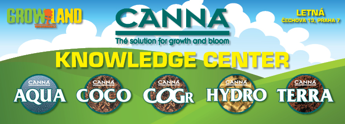 Canna Knowledge Center - Growland Letná