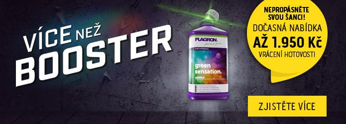 Plagron Green Sensation akce! Vyzkoušej vzorek zdarma nebo kup a ušetři!