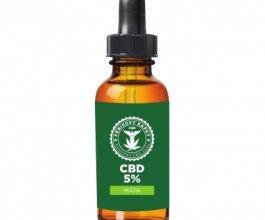 Fénixovy kapky CBD olej 5% aroma máta, 10ml