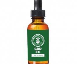 Fénixovy kapky CBD olej 5% bez aroma, 10ml