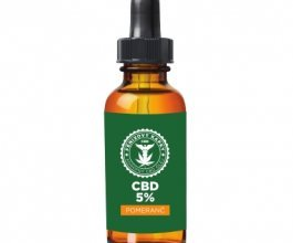 Fénixovy kapky CBD olej 5% aroma pomeranč, 10ml