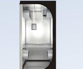 Dark Room 90 R2.6, 90x90x185cm