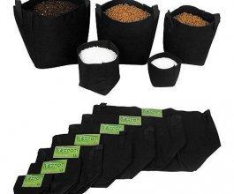 Tex Pot textilní květináč černý, 25L