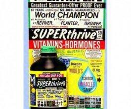Superthrive vitamíny a hormony, 60ml