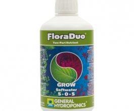 General Hydroponics FloraDuo Grow pro měkkou vodu, 500ml