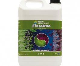 General Hydroponics FloraDuo Grow pro měkkou vodu, 5L