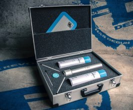 Dexso Briefcase Kit, kompletní sada