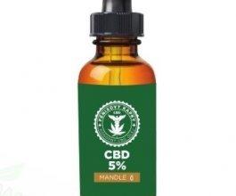 Fénixovy kapky CBD v mandlovém oleji 5%, 10ml