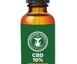 Fénixovy kapky CBD v mandlovém oleji 10%, 10ml