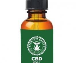Fénixovy kapky CBD v třešňovém oleji 5%, 10ml