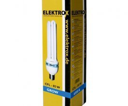 Úsporná CFL lampa ELEKTROX 85W, na růst