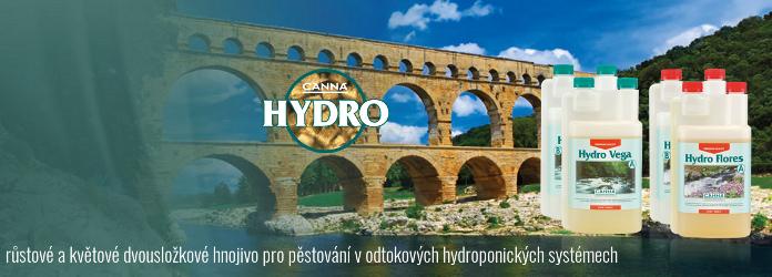 Canna Hydro, pro odtokovou hydroponii