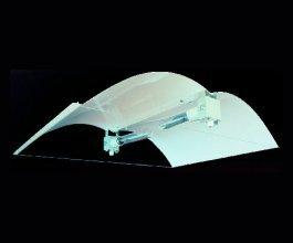 Stínidlo Adjust-A-Wing DEFENDER Large2 na 2 lampy, 2xheatshield
