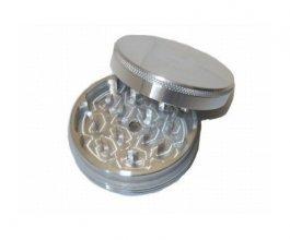 Drtička malá, kovová, magnetická 50mm, stříbrná