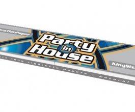 Papírky a fitry Party in House KS 33ks/bal. - Smoking set