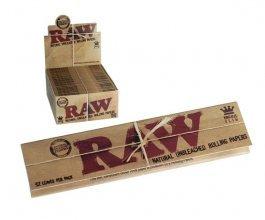 Papírky RAW CLASSIC King Size SLIM 32ks v balení, box 50ks