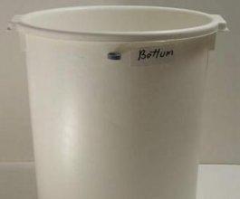 Bílá odvodňovací nádoba - Top/Bottom pro Controller
