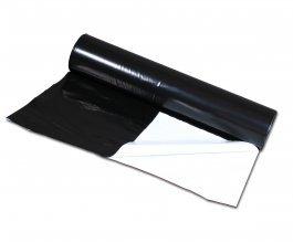 PE zahradnická černobílá fólie, 3300x0,07mm