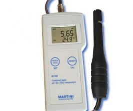 Milwaukee Portable Martini meter pH/EC/TDS/Temp