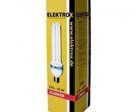 Úsporná CFL lampa ELEKTROX 85W, na květ