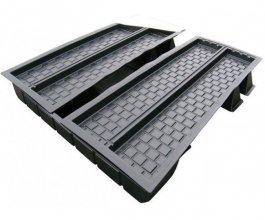 2Channel NFT Multi Duct Nutriculture MD803, 249x212,5x38cm